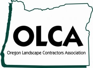 OLCA Oregon Landscape Contractors Association, Logo, Portland Pesticides Applicator, Lawn Maintenance, Shrub trimming, hedge trimming services
